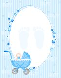 Baby boy background royalty free illustration