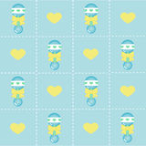 Baby boy background Stock Image