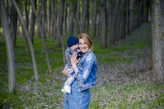 Baby boy. Background, happy baby boy, portrait Stock Images