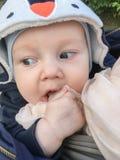 funny cute small baby royalty free stock photos