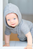 Baby boy with blue eyes Royalty Free Stock Photography