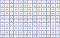 Baby Boy Blue Pattern Royalty Free Stock Image