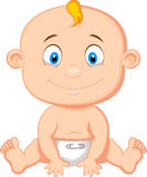 Baby boy cartoon Royalty Free Stock Photo