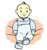 Baby Boy Christening Royalty Free Stock Image