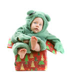 Baby boy in costume Stock Photos