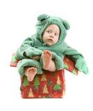 Baby boy in costume Stock Photos