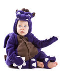 Baby boy in costume Royalty Free Stock Photo