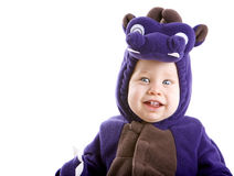 Baby boy in costume Stock Photo