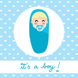 Baby Boy Design Royalty Free Stock Photography