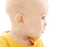 Baby Boy Face Stock Photo
