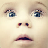 Baby boy - face. And eyes Royalty Free Stock Photo