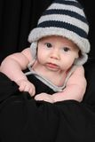 Baby boy in hat Stock Photography