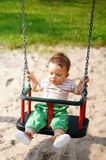 Baby boy having fun Royalty Free Stock Photography
