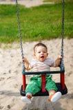 Baby boy having fun Royalty Free Stock Photos