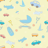 Baby boy layette pattern texture Royalty Free Stock Photo