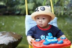 Baby boy looking Stock Photos