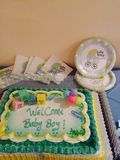 Baby Boy Party Royalty Free Stock Images