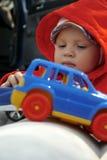 Baby boy playing Stock Photos