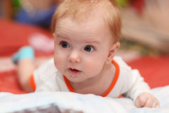 baby boy portrait Royalty Free Stock Photography