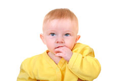 Baby Boy Portrait Stock Images