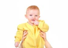 Baby Boy Portrait Stock Image