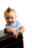 Baby Boy Portrait Isolated Royalty Free Stock Images