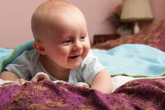 Baby boy 6 Stock Images