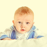 Baby Boy Portrait Royalty Free Stock Images