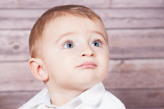Baby boy portrait Royalty Free Stock Photo