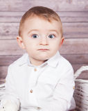 Baby boy portrait Royalty Free Stock Image