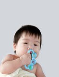 Baby boy posing Stock Image