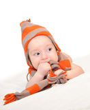 Baby boy posing Stock Photography