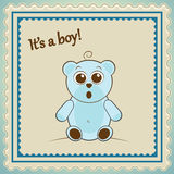 Baby Boy Postage Stamp Stock Images