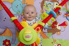 Baby boy potrait Royalty Free Stock Photo