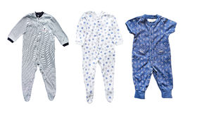 Baby boy's clothes Stock Images