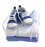 Baby boy's clothes Royalty Free Stock Image