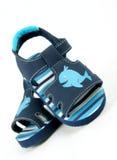 Baby boy sandals Royalty Free Stock Photos