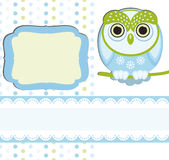 Baby boy Scrap background. Stock Images