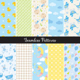 Baby Boy Seamless Pattern