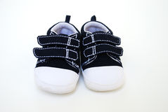 Baby boy shoes Stock Images