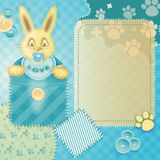 Baby boy shower Royalty Free Stock Images