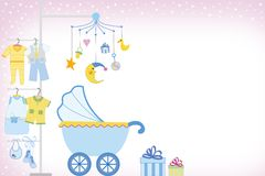 Free Baby Boy Shower Stock Photography - 1859362