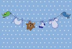 Baby Boy Shower vector illustration