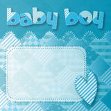 Baby boy shower newborn Royalty Free Stock Image