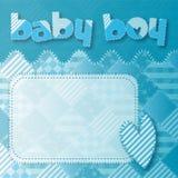 Baby boy shower newborn Royalty Free Stock Image