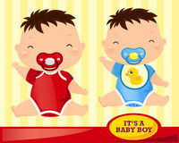 Baby Boy Sit Royalty Free Stock Images