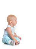 Baby boy sitting Stock Image