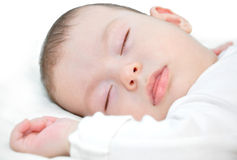 Baby boy sleep Royalty Free Stock Image