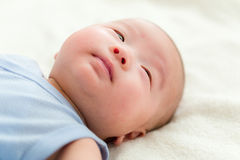 Baby boy sleep Royalty Free Stock Photos