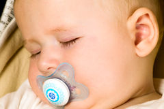 Baby boy is sleeping Royalty Free Stock Photography